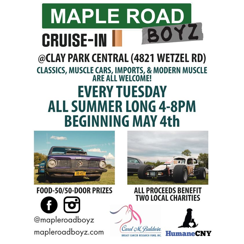 Maple Road Boyz Tuesday Nite Cruise-In 2021