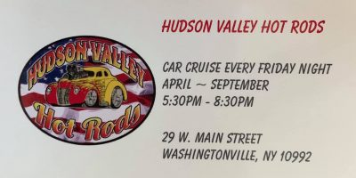 Hudson Valley Hot Rods Friday Night Car Cruise 2021