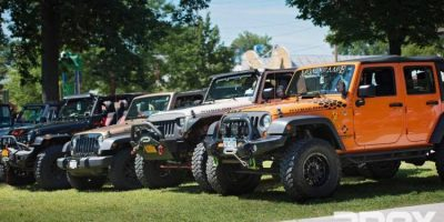 Jeeps at The Beach-9th Annual