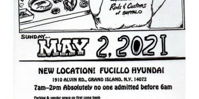 36th Annual Rods and Customs Swap Meet 2021