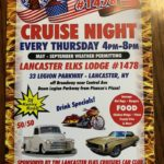 Elks Lodge #1478 Thursday Cruise Nights