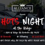 Hots Night at The Ridge Car Meet