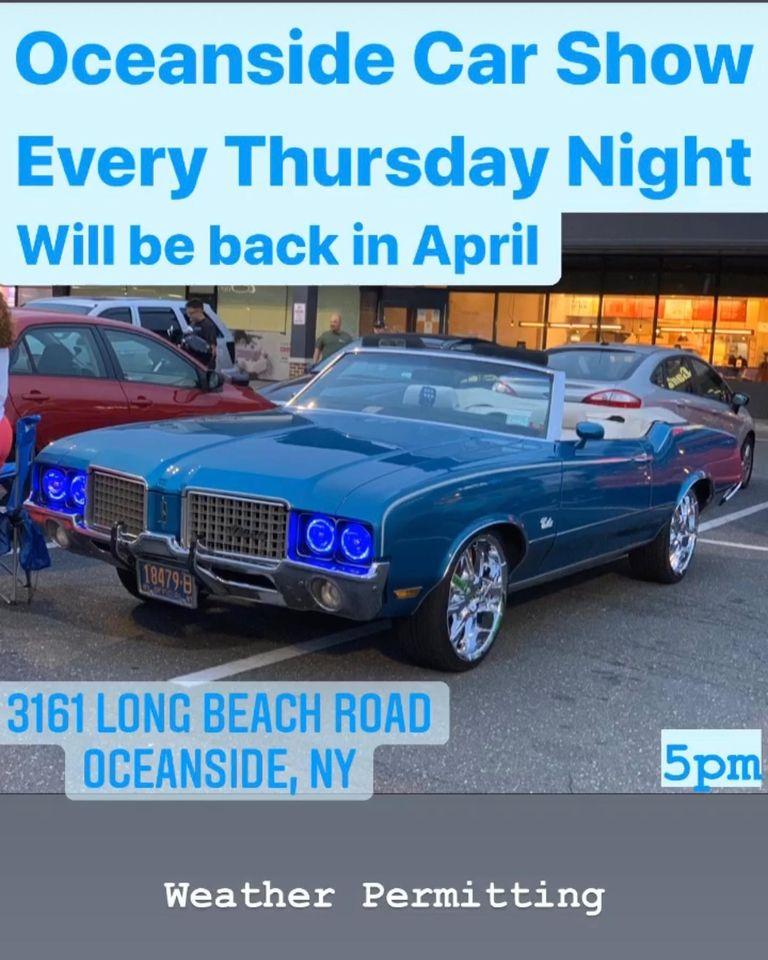 Oceanside Thursday Night Car Show