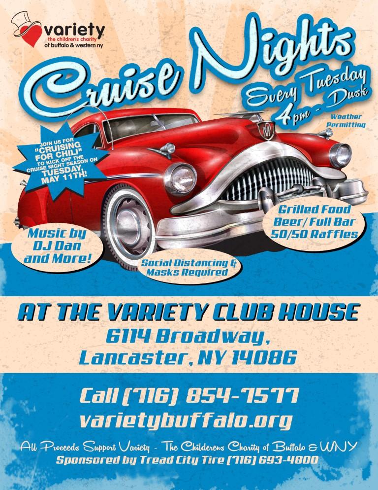 Variety Club Cruise Nights 2021