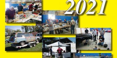 Studebakers at Dunkirk Swap Meet & Car Corral 2021