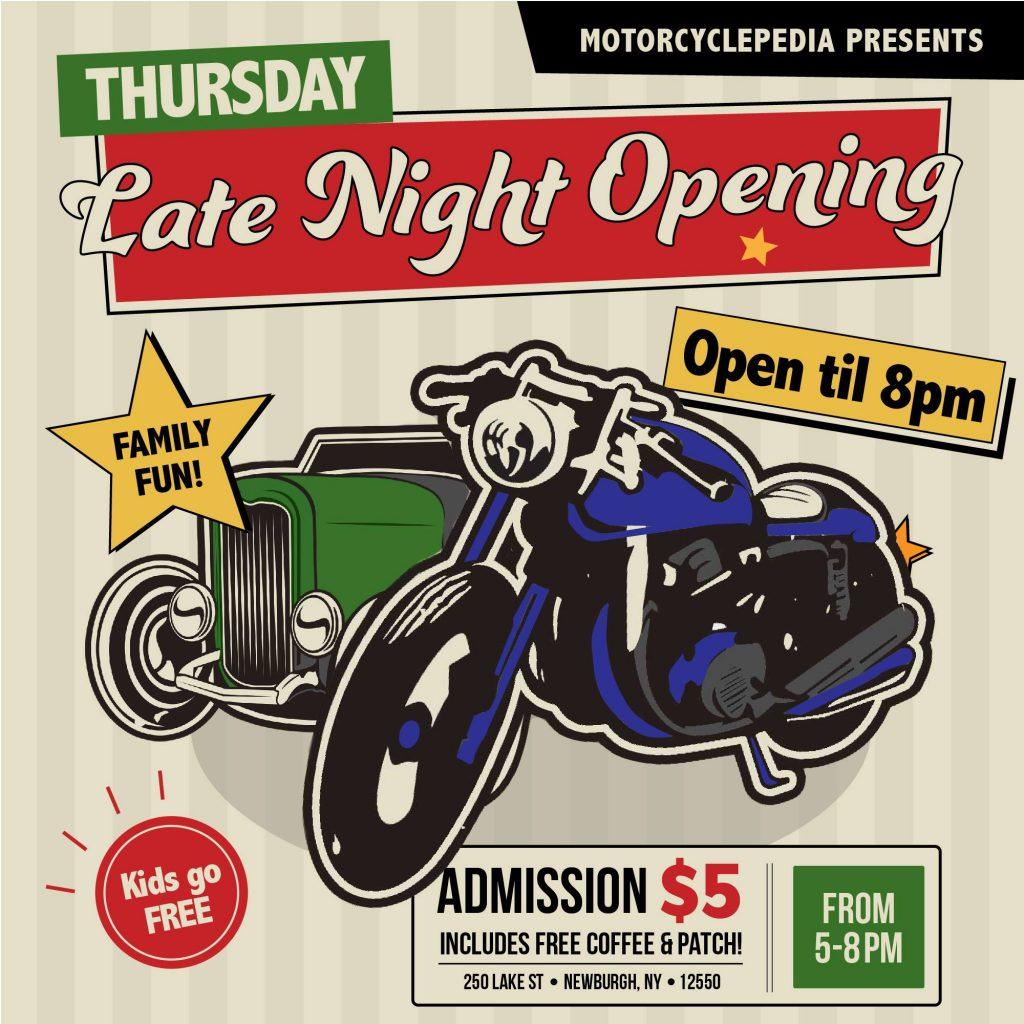 Thursday Late Night Opening