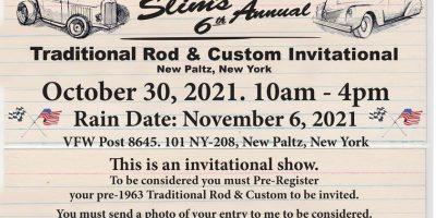 Slim's 6th Annual Traditional Rod & Custom Invitational