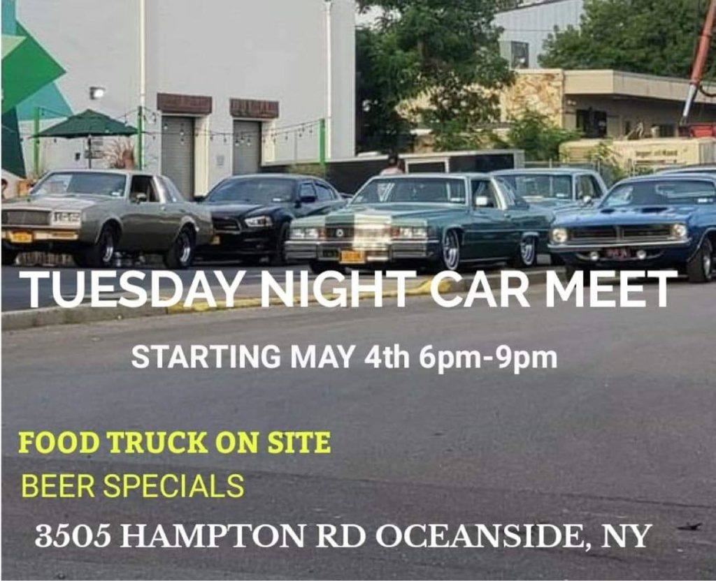 Tuesday Night Car Meet