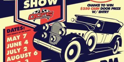 Orange County Fair Speedway Car Show