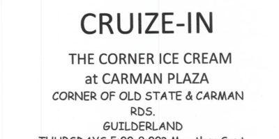 CRUIZE-IN AT THE CORNER ICE CREAM