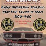 Hopwins Brewery Car Show