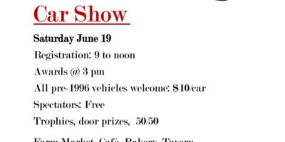 Replacement for the Classics on the Hudson Car Show