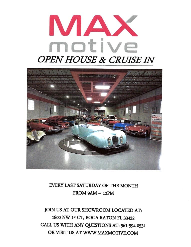 Open House & Cruise In