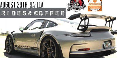 Rides & Coffee at Detail Garage Tampa