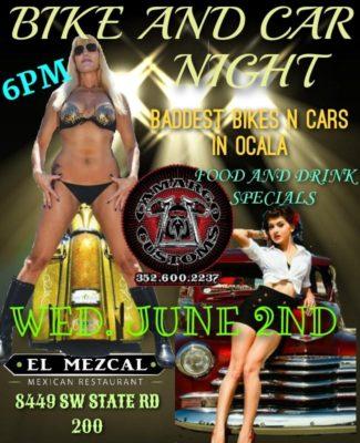 EL MEZCAL CAR & BIKES NIGHT