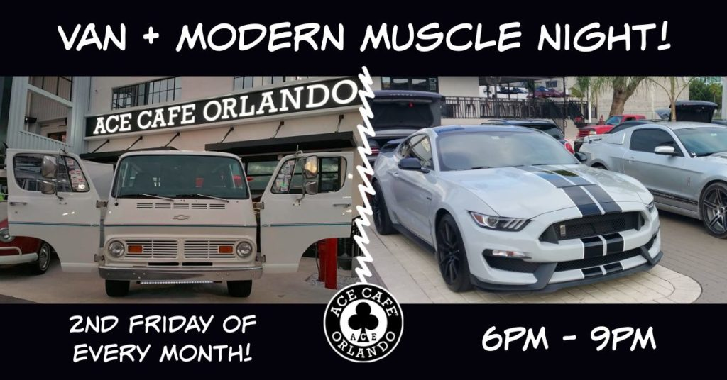 Van + Modern Muscle Night at the Ace
