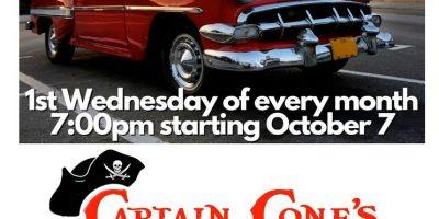 Captain Cone's Cruise-in