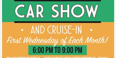 Cruise Boca Car Show