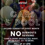 Cars & Pool: Monthly Car Meet