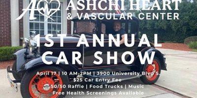 Ashchi Heart & Vascular Center 1st Annual Car Show