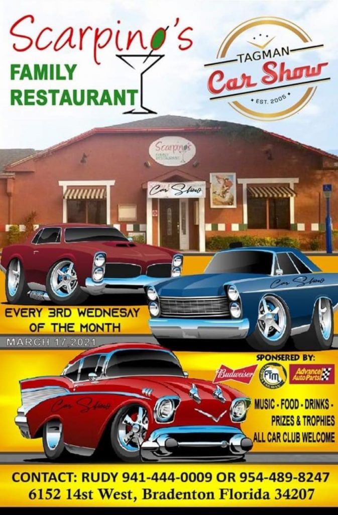 Scarpino's Restaurant Car Show