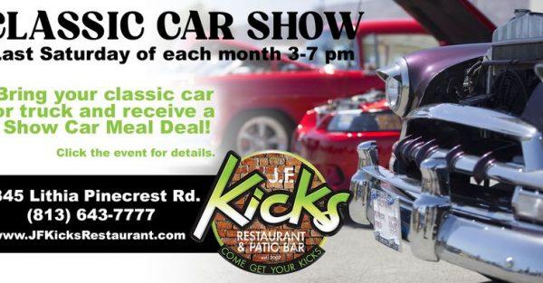 Classic Car Show @ JF Kicks