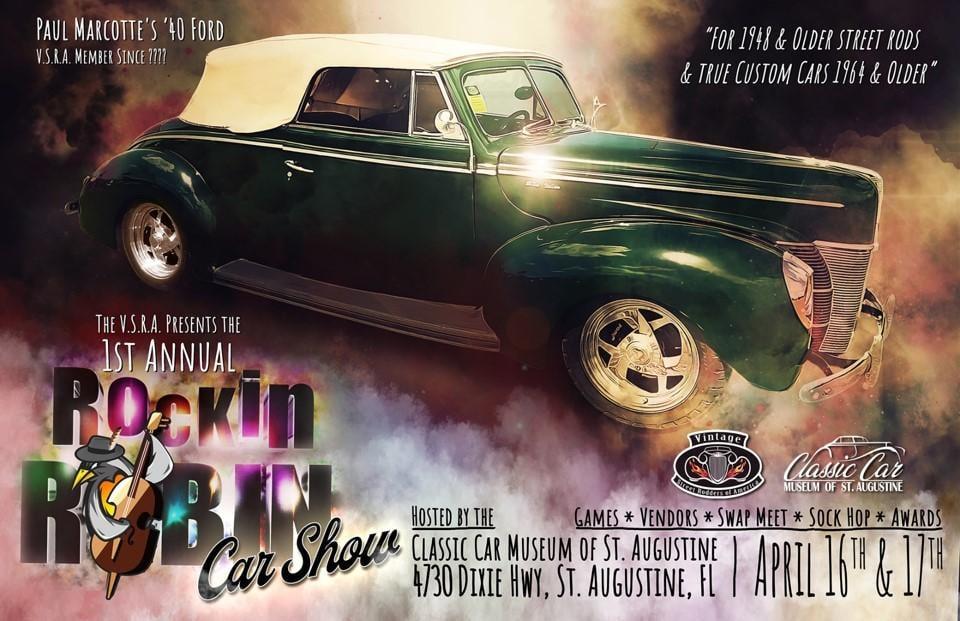 Rockin Robin Car Show