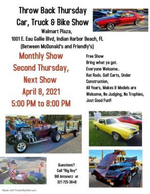 Throwback Thursday Car, Tuck & Bike Show