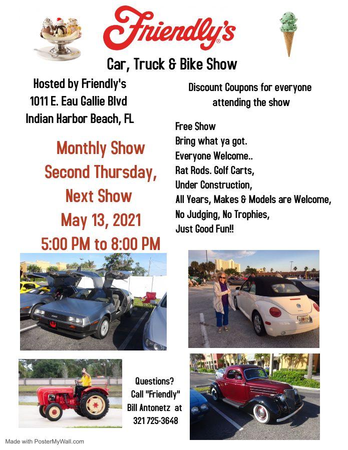 Throwback Thursday Car, Truck & Bike Show
