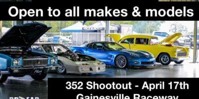 6th Annual 352 Shootout Car Show