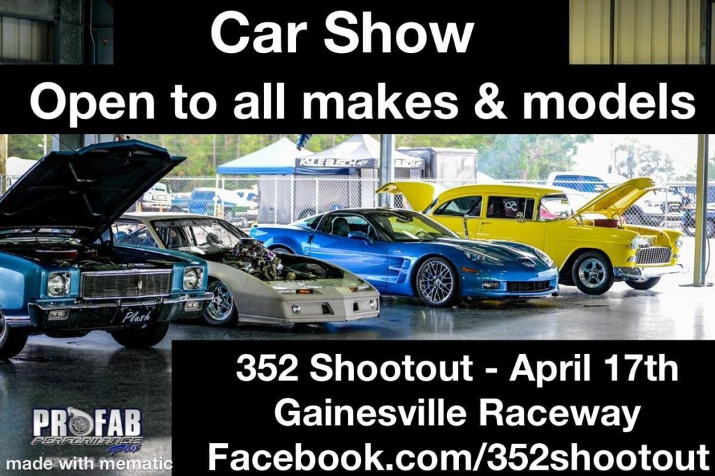 6th Annual 352 Shootout Car Show