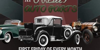 First Fridays at O'Reilly Auto Parts