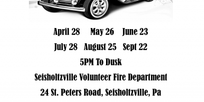 Seisholtzville Volunteer Fire Department Car Cruise Nights 2021