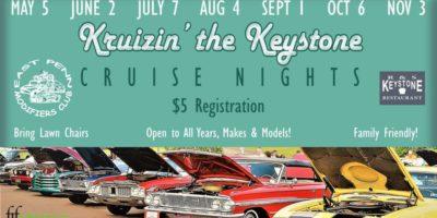 Kruizin' the Keystone Cruise Nights