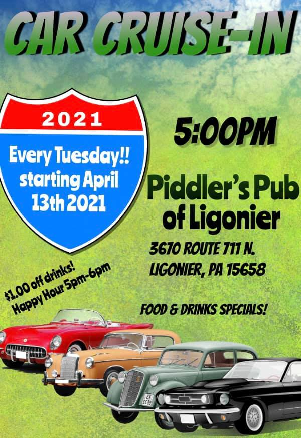 Piddler's Pub Tuesday Cruise-In
