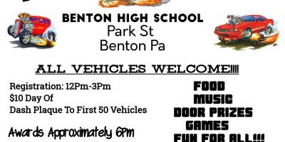 Benton Volunteer Fire Company Rod and Custom Car Show