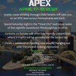 Pennsylvania's Apex 2021 - Apex Road Rally