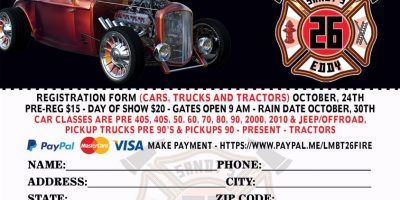 Lower Mount Bethel-Sandt's Eddy Fire Company Annual Car, Truck & Tractor Show