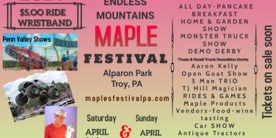 39th Annual Endless Mountain Maple Festival
