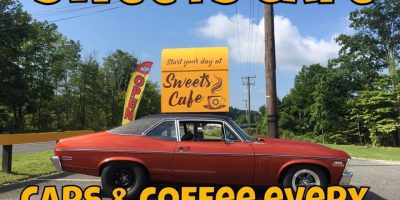 Cars & Coffee @ Sweets Cafe