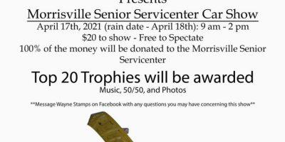 Morrisville Senior Servicenter Car Show
