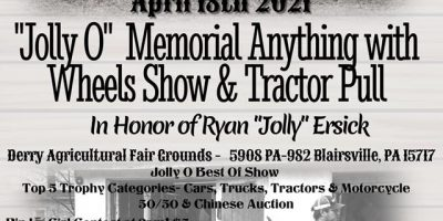 "Ryan ""Jolly"" Ersick Memorial Tractor Show & Anything With Wheels Show"