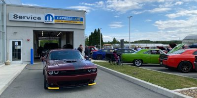 Pa Modern Mopar - Pittsburgh Chapter Cars & Coffee at Laurel Valley Motors