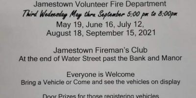Jamestown Firemans's Club Cruise In