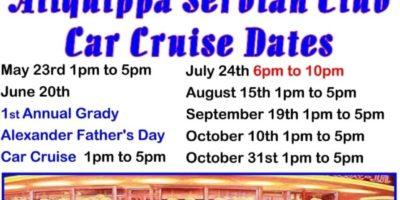 Aliquippa American Serbian Club Cruise In