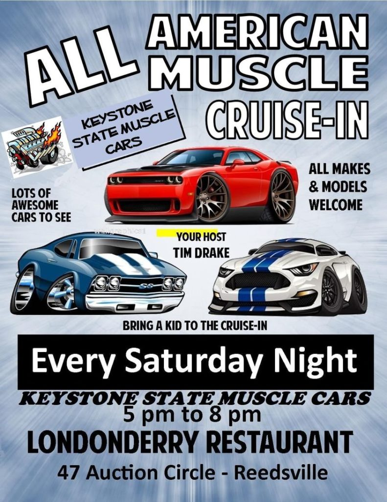 Keystone State Muscle Cars Cruise In