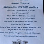 VFW Post 5825 Summer Cruise-in