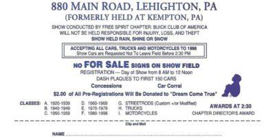 45th Annual Old Car Show w/ Outdoor Flea Market