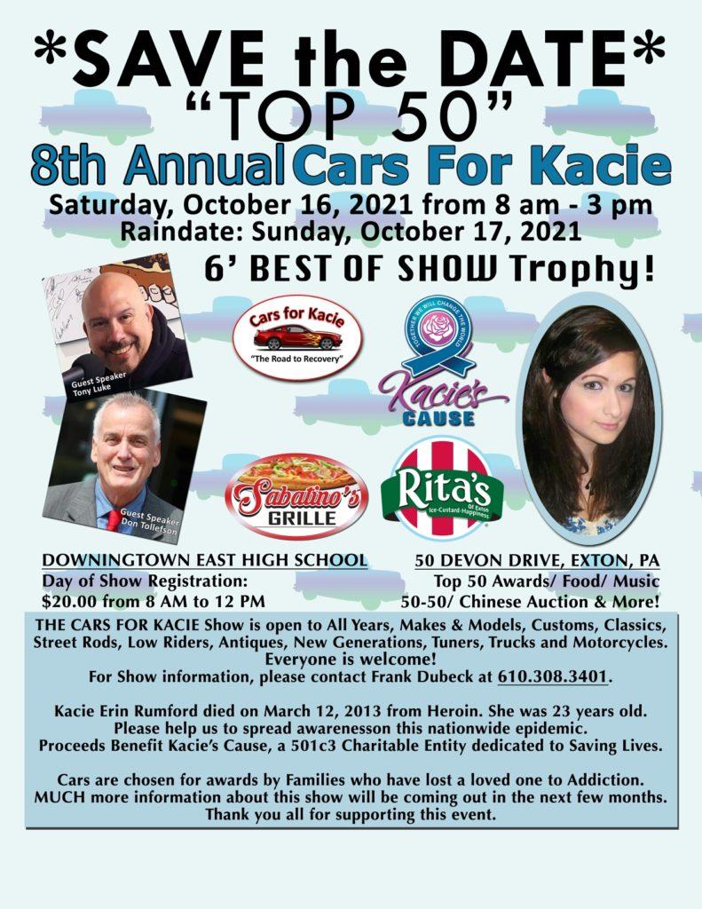 8th Annual Cars for Kacie Car Show