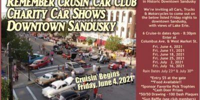 The Remember Crusin' Car Club Charity Cruises
